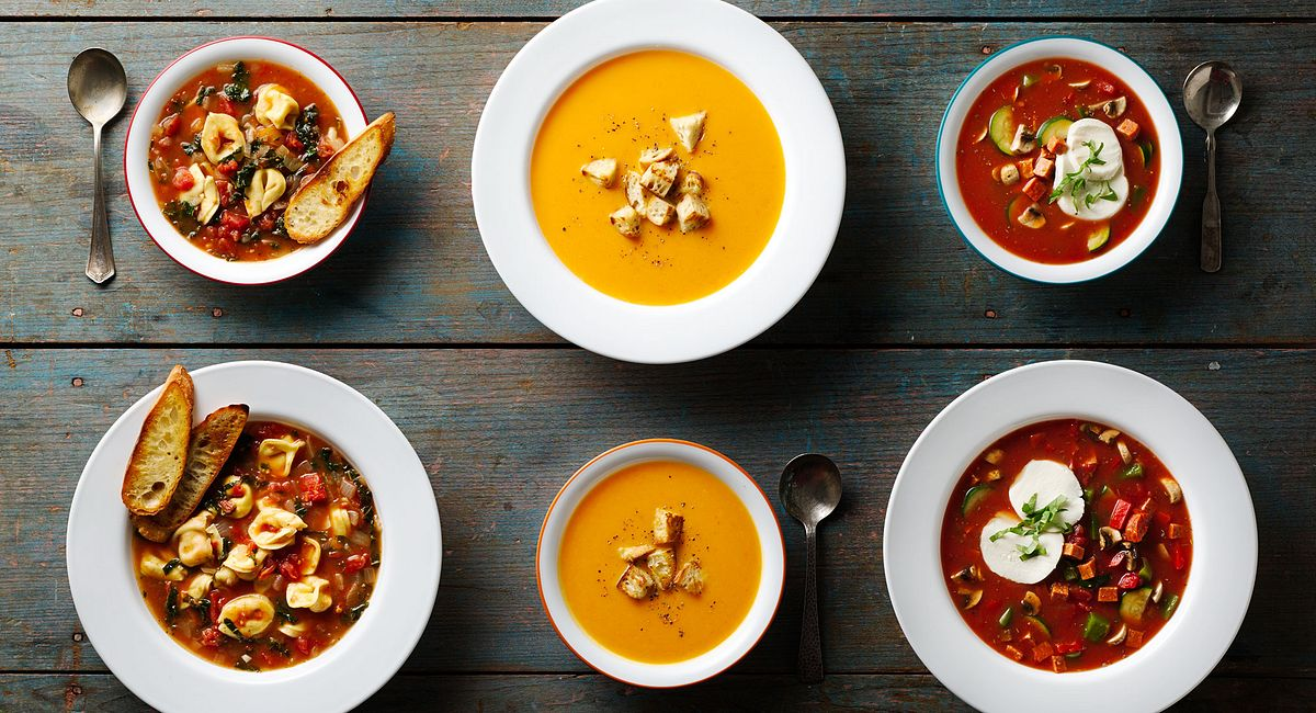 3 Ridiculously Easy Healthy Winter Soups