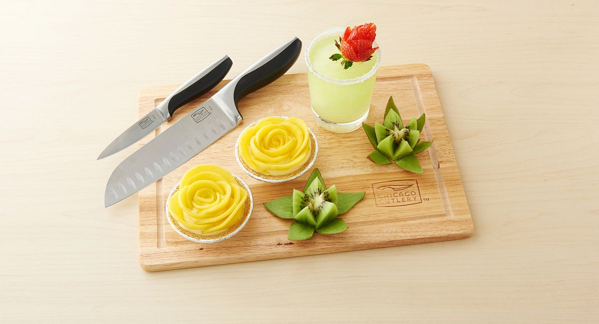 Cutting Class: 3 Easy Ways to Cut Fruit Flowers