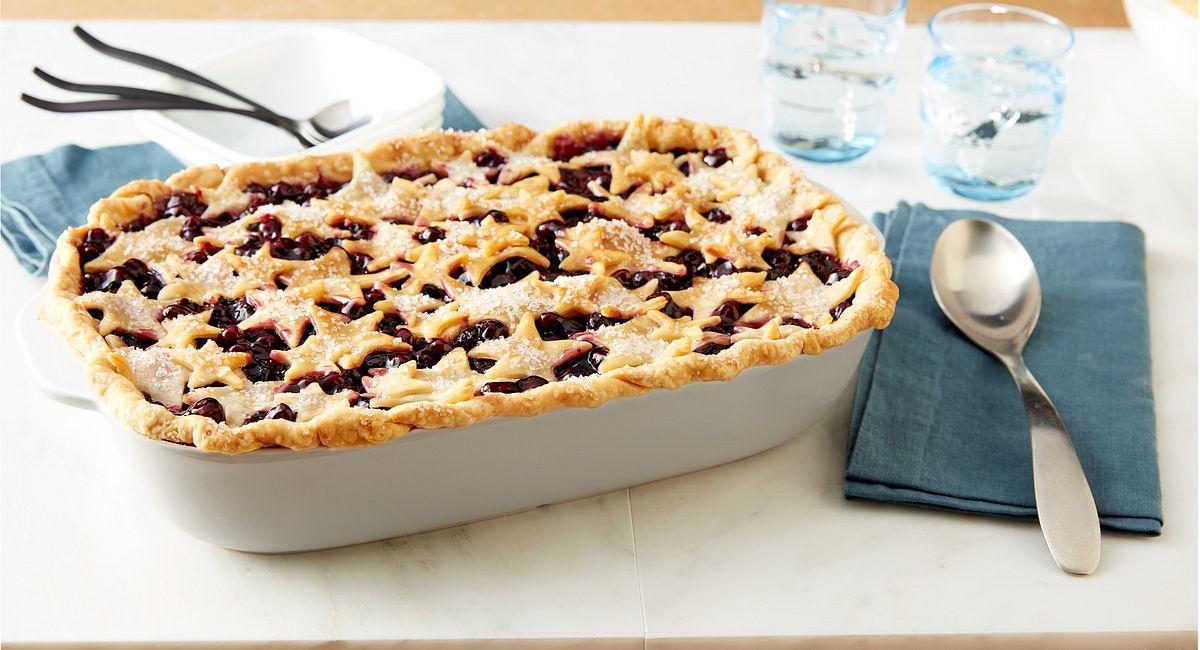 Deep-Dish Blueberry Pie