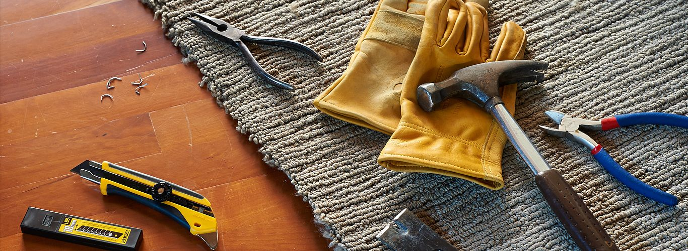 Remove Carpet in 10 Easy Steps