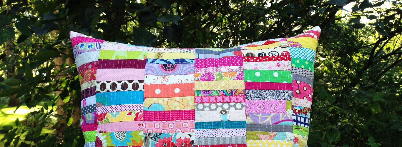 Project: Scrap Happy Pillow