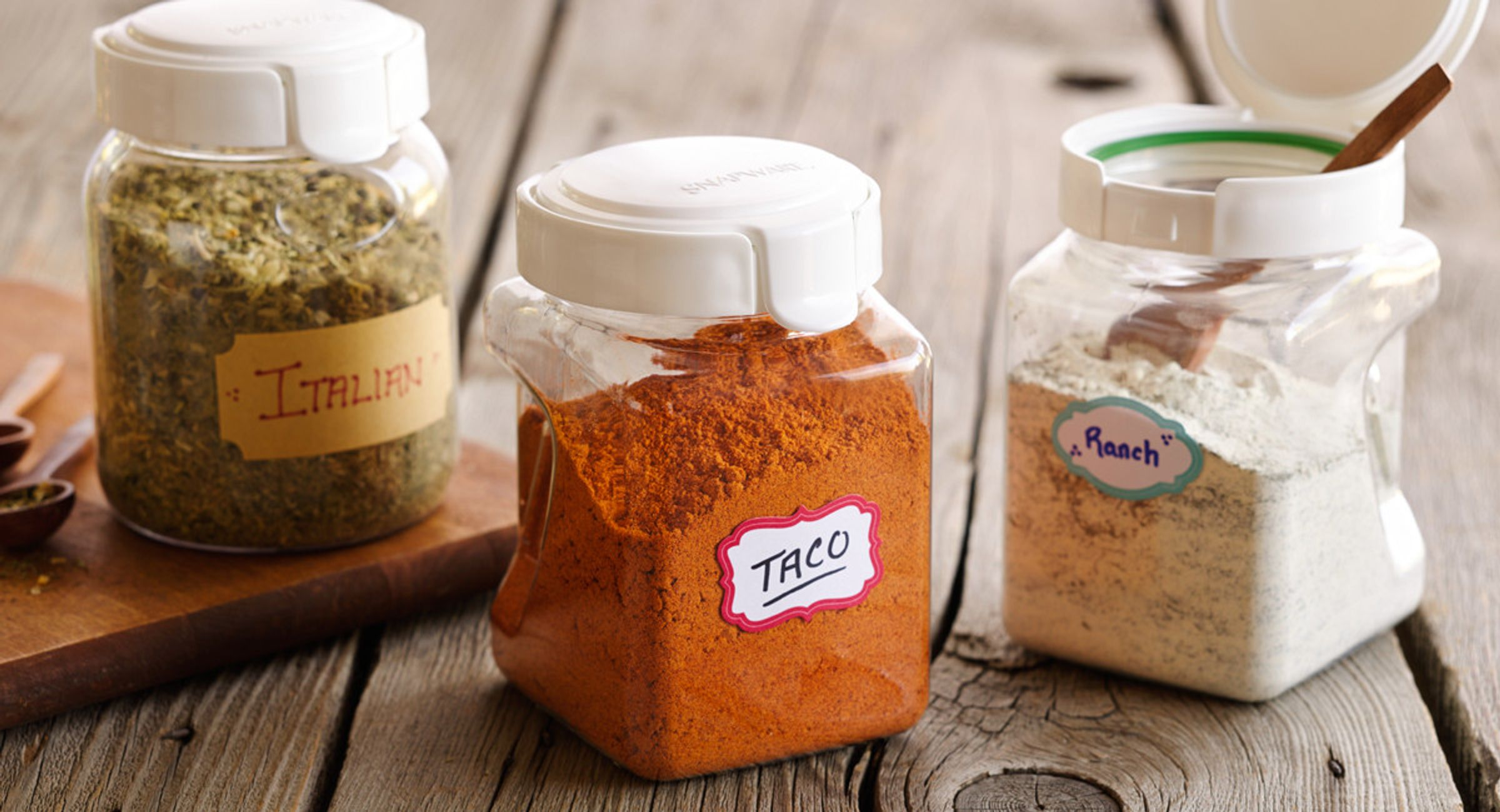 Mix Up Your Own Seasoning Blends