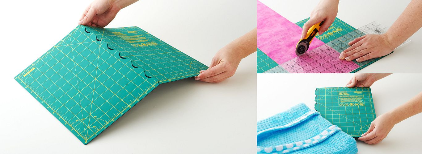 NEW Folding Mats for Crafters On the Go!