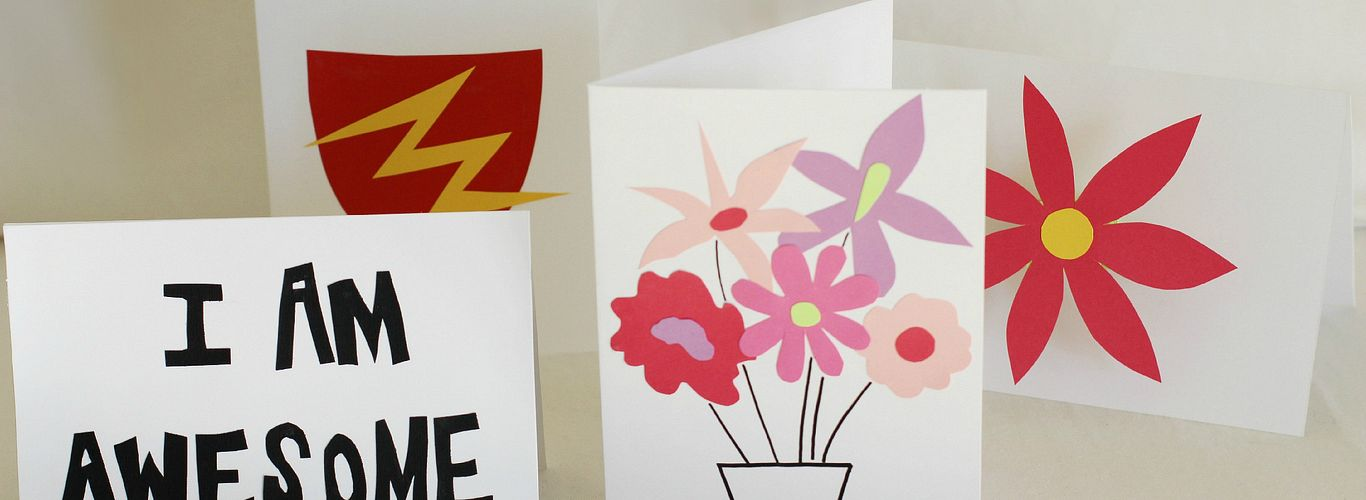Project: Greeting Cards That Show Mom & Dad Love