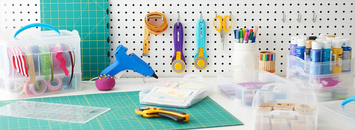Spring Cleaning for an Organized Craft Space