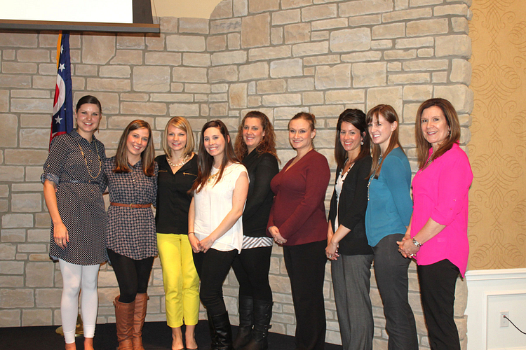 Carrie Kane and Aimee with Aimee's District and Area Managers, at their recent District Manager's Retreat.