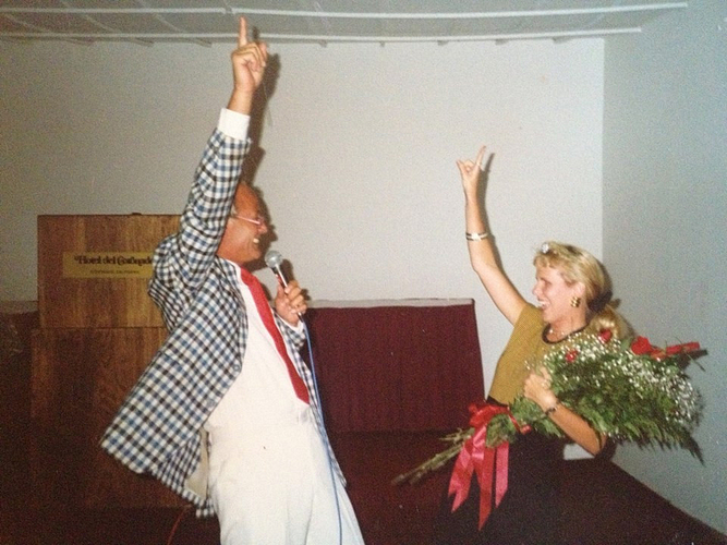 Donna and Petter Mørck, 1987.