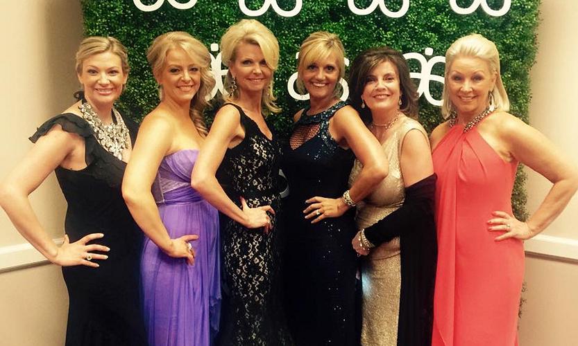 GTC with NVPs Natalie Mullins, Sonya Shields, Deanna Herrin, Cecilia, Martha McIntyre, and Neta Irwin.
