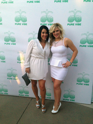 Aileen and AM Alisha Armstrong at the 2014 GTC White Party, a night they will never forget!