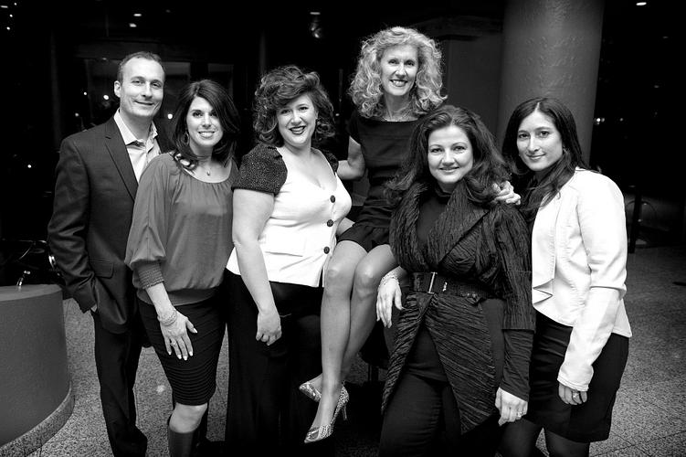 ERVP Frank Cuconato, ERVP Santina Macri-Cuconato, RVP Katherine Macri, NVP Lori Andrews (seated), ERVP Danielle Larice and ERVP Daniela Altomare.