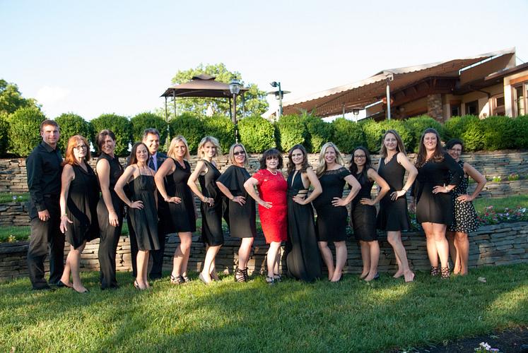 Lola's team of beautiful people.