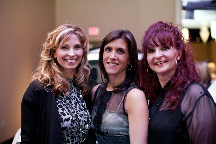 Gina with EDM Shonna Mazak and AM Rita Green.