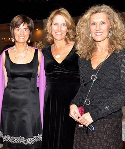 ENVP Maggie Easton, ENVP Valerie Darien and NVP Lori Andrews.