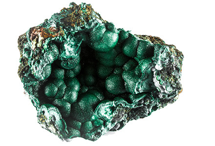 Malachite for dryness