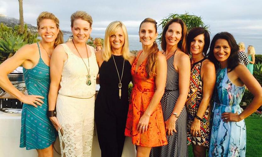 Cecilia with Miranda Burcham, Jessica Thompson, Mindy Prete, Tracy Schuetz, Tracy Dyer, and Donna Melchert.
