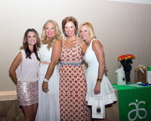 L–R: Morgan with her upline and mentors ENVP Kristen Walter, NVP and Sponsor Evelyn Bennett, and ENVP Molly Geil at her Mercedes-Benz Car Presentation.