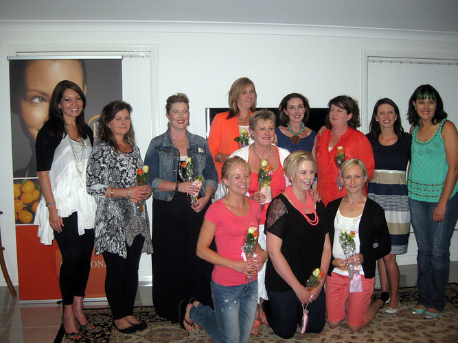 New RVP Lisa Gill and Team Celebration in Australia.
