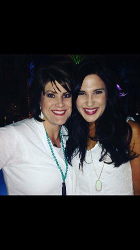 Peyton with ERVP Bridgette Burleson at the GTC Pure Vibe Celebration.