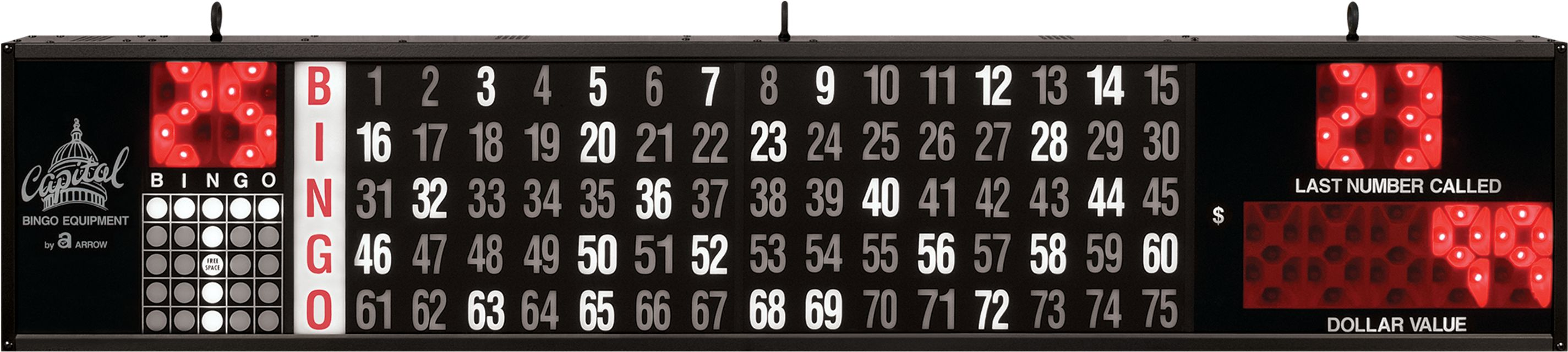 Access DollarValue BINGO EQUIPMENT/Flashboards