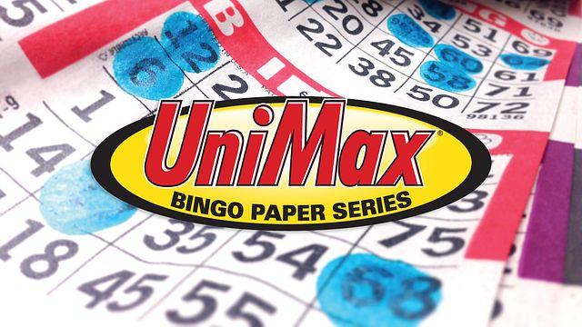 Unimax bingo Paper Ad Bingo Equipment/Flashboards/MaxFlash>Promotional Materials/Advertisements