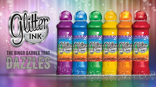 Glitter Ink Promotional Materials/Ink Graphics/Advertisements