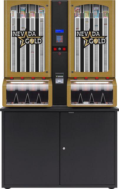 Nevada Gold II 8col-cabinet BINGO EQUIPMENT/Pull Tab Dispensers/Nevada Gold II