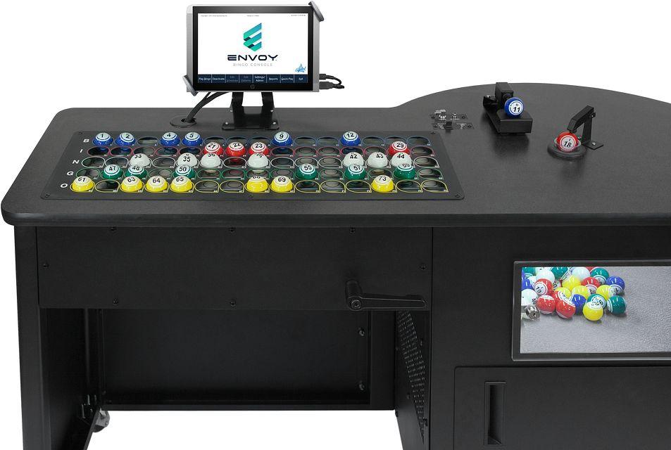 Envoy Rear Top BINGO EQUIPMENT/Consoles