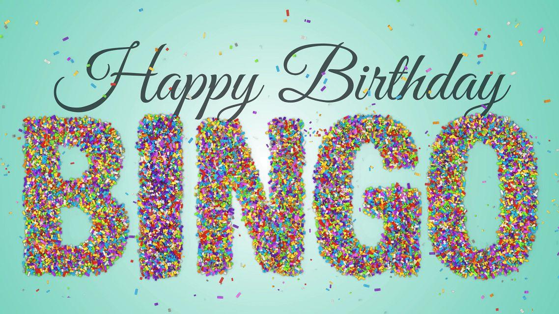Confetti Birthday Bingo Bingo Equipment/Flashboards/MaxFlash>Promotional Materials/Advertisements
