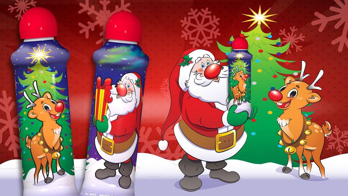 Christmas Ink Santa and Rudolph Bingo Equipment/Flashboards/MaxFlash>Promotional Materials/Advertisements