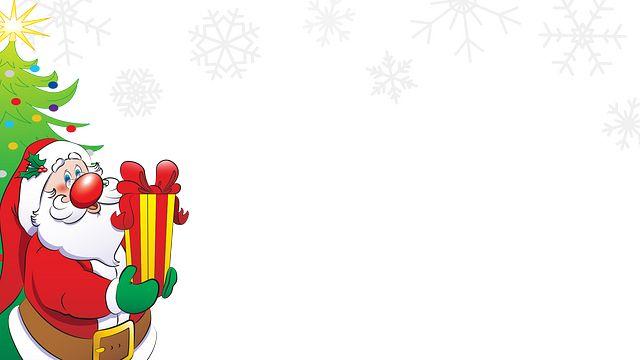 Santa with Present 2 Bingo Equipment/Flashboards/MaxFlash>Promotional Materials/Advertisements