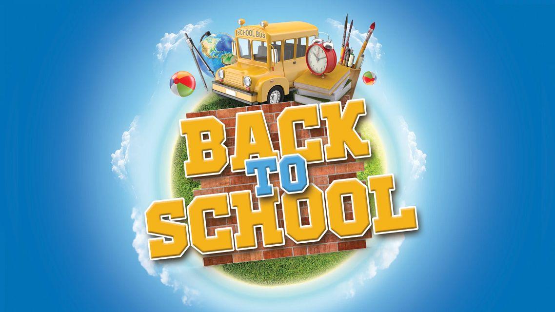 Back-to-School Bingo Bingo Equipment/Flashboards/MaxFlash>Promotional Materials/Advertisements