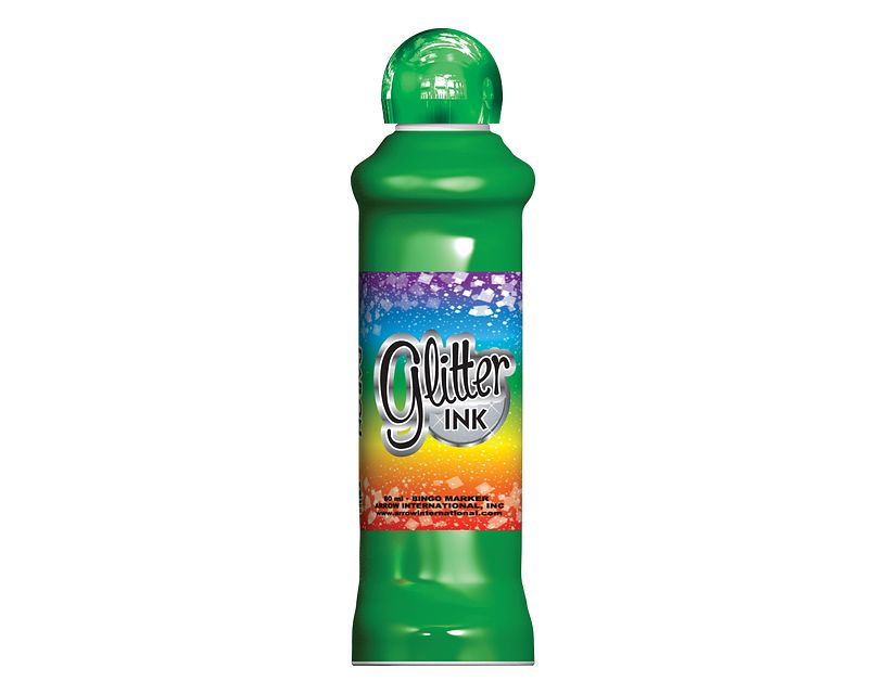 Glitter Ink Green Bingo Ink/Glitter Ink