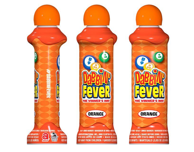 Dabbin' Fever Orange Bingo Ink/Dabbin' Fever