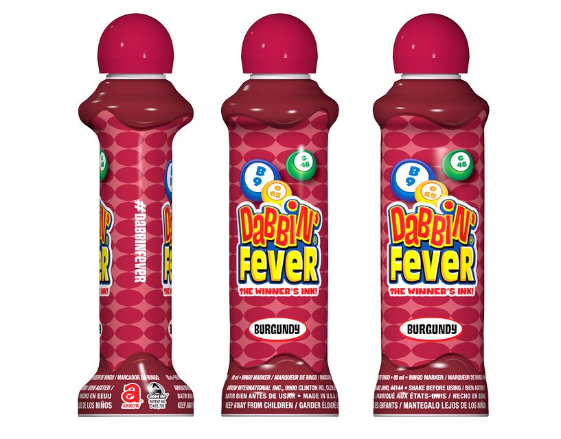 Dabbin' Fever Burgundy Bingo Ink/Dabbin' Fever