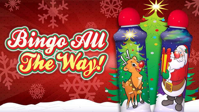Christmas Ink Bingo All The Way Bingo Equipment/Flashboards/MaxFlash>Promotional Materials/Advertisements