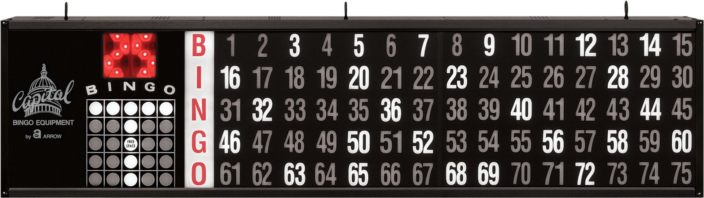 Access Game Indicator BINGO EQUIPMENT/Flashboards