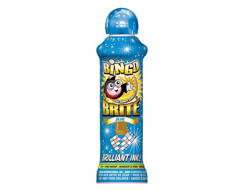 Bingo Brite Blue Bingo Ink/Bingo Brite