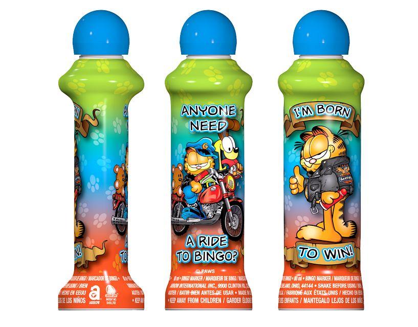 Garfield Rebel BLUE Bingo Ink/Licensed