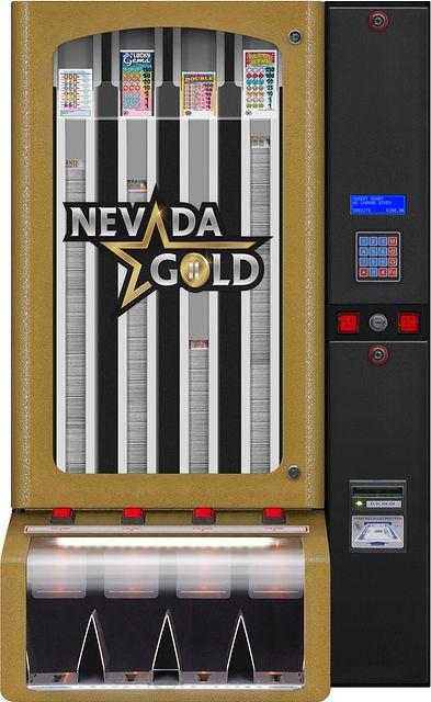Nevada Gold II 4col BINGO EQUIPMENT/Pull Tab Dispensers/Nevada Gold II