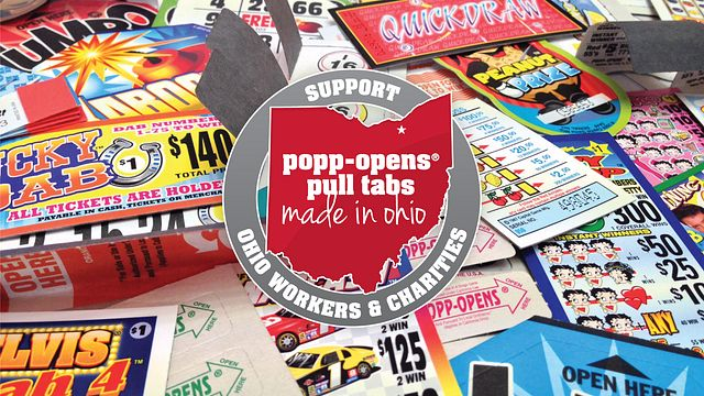 Pull Tabs Made in Ohio Bingo Equipment/Flashboards/MaxFlash>Promotional Materials/Advertisements