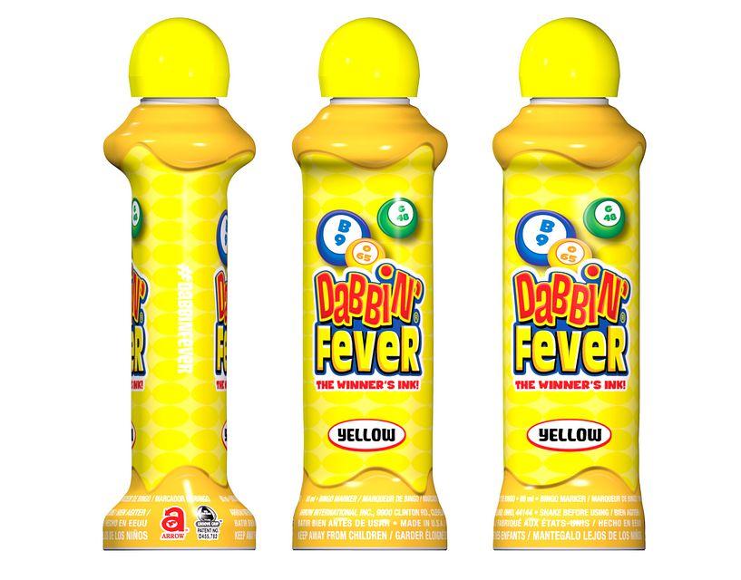 Dabbin' Fever Yellow Bingo Ink/Dabbin' Fever
