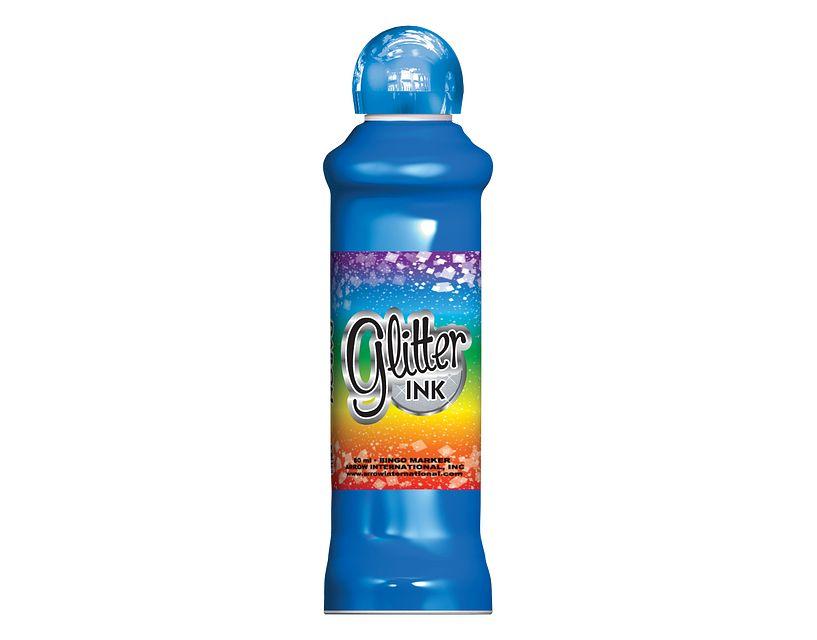 Glitter Ink Blue Bingo Ink/Glitter Ink