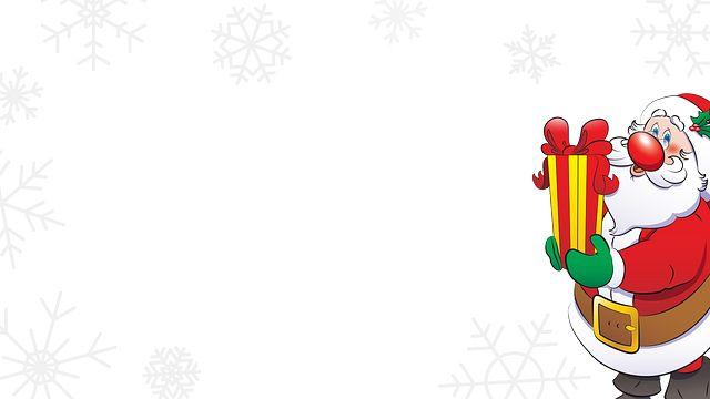 Santa with Present Bingo Equipment/Flashboards/MaxFlash>Promotional Materials/Advertisements