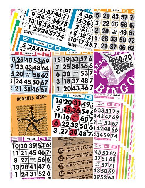 Bingo King Bingo Paper Montage CMYK Marketing Resources/Bingo Stock Images>Bingo Paper/Bingo King C-Max