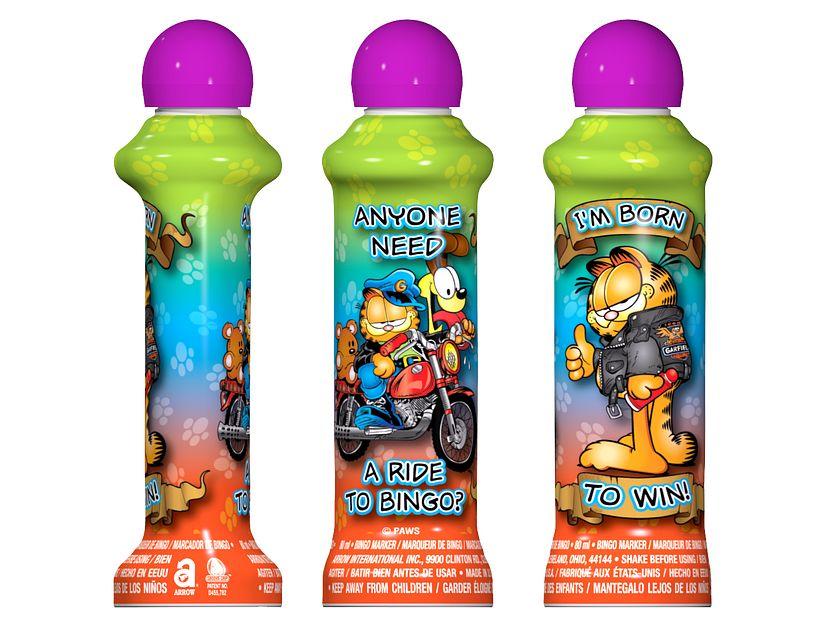 Garfield Rebel PURPLE Bingo Ink/Licensed