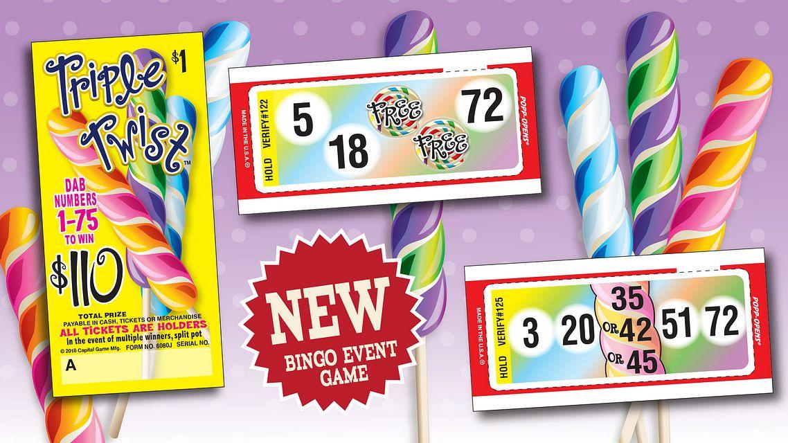 TripleTwist Bingo Event Maxflash Bingo Equipment/Flashboards/MaxFlash>Promotional Materials/Advertisements
