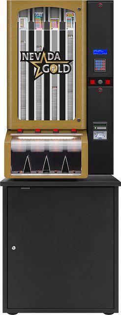 Nevada Gold II 4col-cabinet BINGO EQUIPMENT/Pull Tab Dispensers/Nevada Gold II