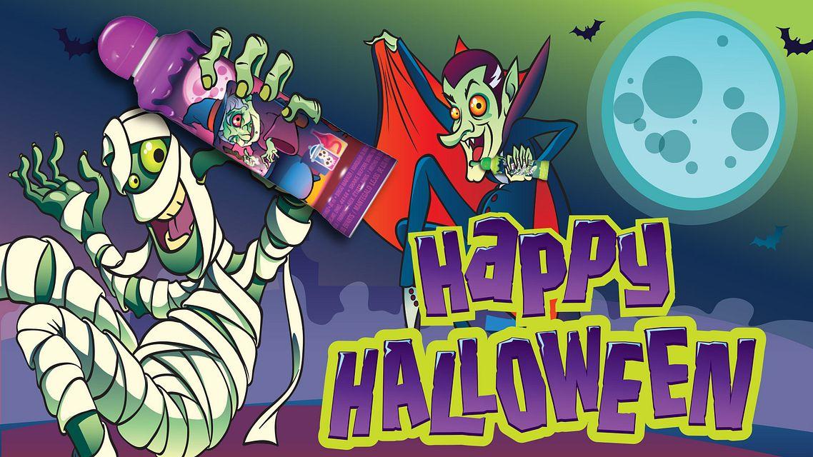 Halloween Ink Mummy Maxflash Ad Bingo Equipment/Flashboards/MaxFlash>Promotional Materials/Advertisements