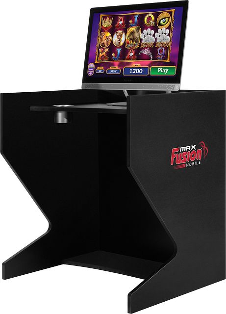 Gaming Booth Angle BINGO EQUIPMENT/MaxFusion/Gaming Booth