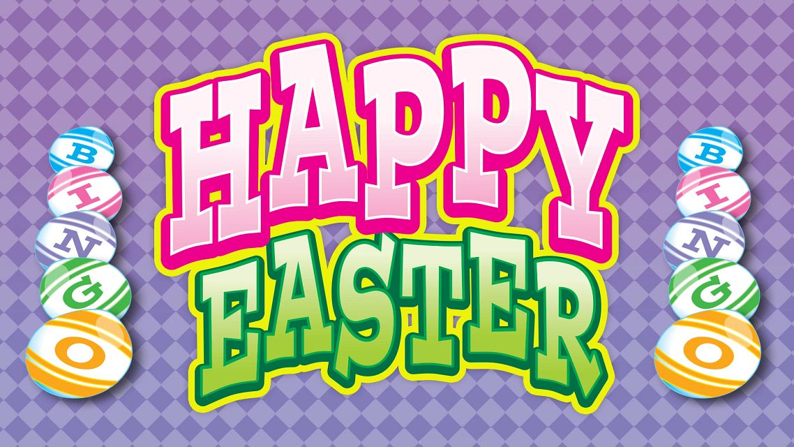 Happy Easter Bingo Bingo Equipment/Flashboards/MaxFlash>Promotional Materials/Advertisements